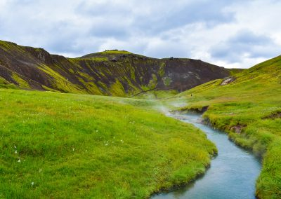 Iceland thermo river