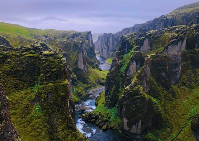 Iceland valley